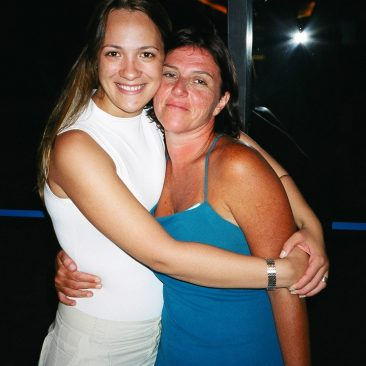 Paula Tooths with TV director Rose Elias