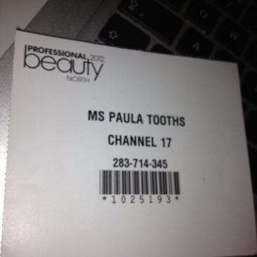 Paula Tooths - Reporter for C17 (Press pass)