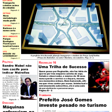 Paula Tooths - First Page interview with Regis 16, Clube do Balanco