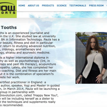 Paula Tooths is an ambassator for Max Flow Sports