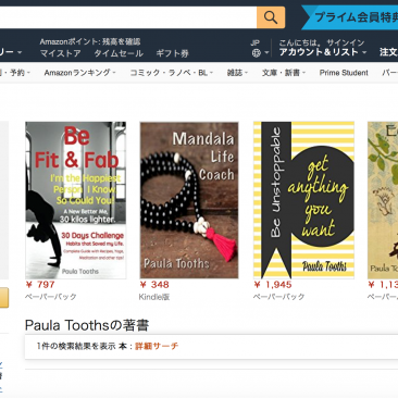 Paula Tooths selling in Japan & China