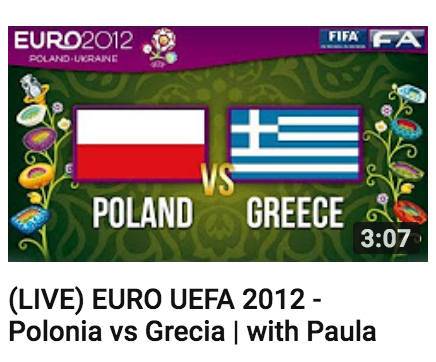 Paula Tooths LIVE commenting for EURO UEFA