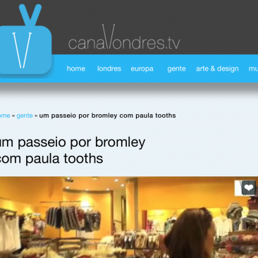 Paula Tooths for Canal Londres TV