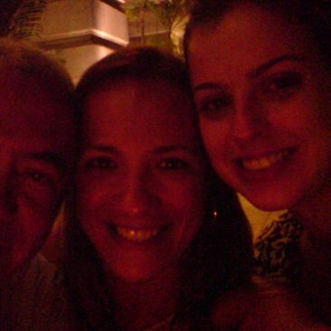 Paula Tooths working in Singapore with Wilfrido Marques  & Aline F.