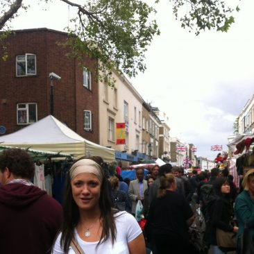 Paula Tooths research at Portobello Road for TV Series